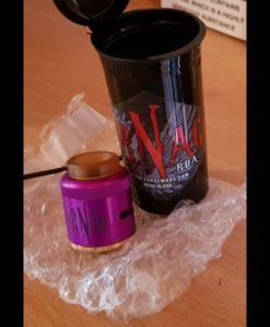 Carnage v1.5 RDA 25mm Purge Mods Purple