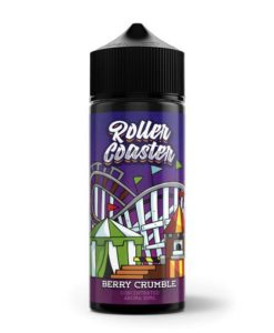 Berry Crumble 120ml Roller Coaster by Steam Train & VnV