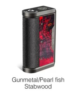 lost vape gunmetal pearl fish stabwood limited edition